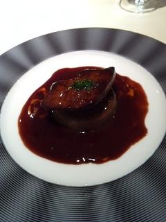 フレッシュフォアグラのソテー ポルトバルサミのソース