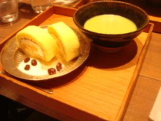 甘夏ロール&抹茶セット