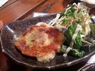 北海道産カチョカバロチーズで焼きチーズ