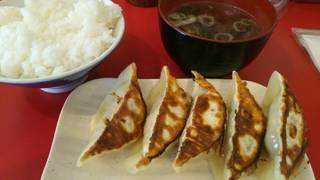 肉餃子定食