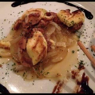 鶏肉のアリオリソース焼き
