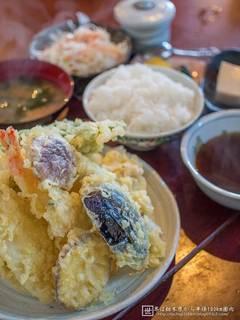 魚いっぱい天ぷら定食