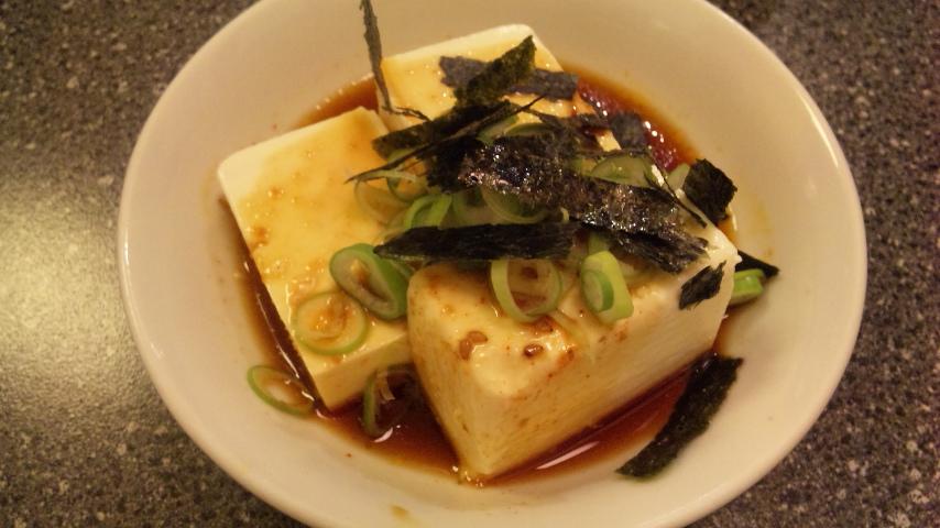 味付け豆腐