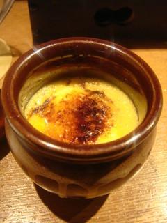 壷入り地卵のブリュレ