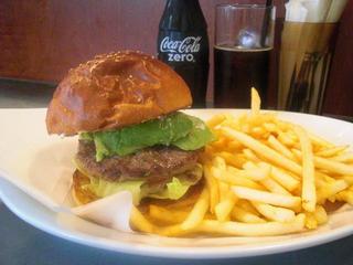 Golden Brown Burger