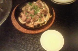 地鶏炭火焼ステーキ