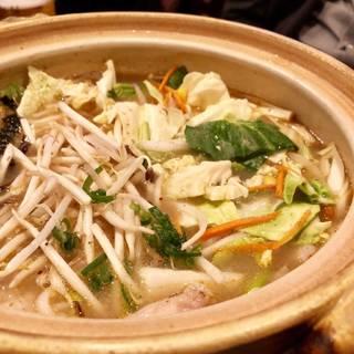 海鮮 酸辣(サンラー)ちゃんぽん鍋 宴会コース