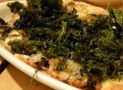 手造りブルゴーニュバターでうす焼岩のりピザ