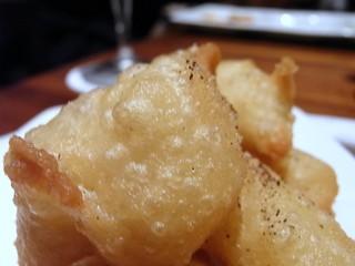 チーズのビールフリット