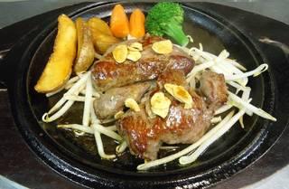 牛ひれ肉のステーキ