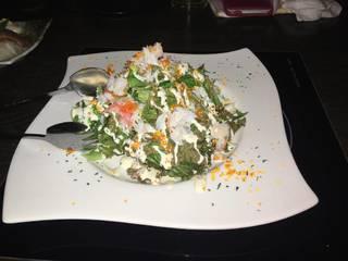 蟹みそサラダ