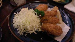 広島産大粒カキフライ