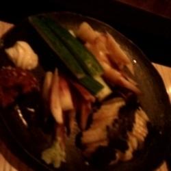 野菜の刺身盛り合わせ