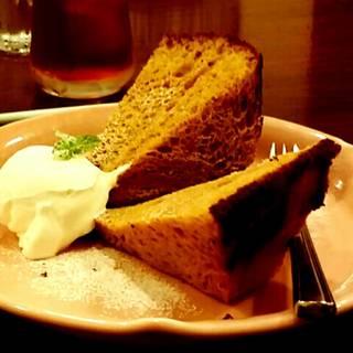 味噌シフォンケーキ