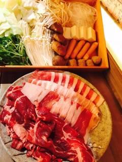 【40種食べ放題プラン】とってもお得な栗豚しゃぶしゃぶ食べ放題プラン 40種1980円