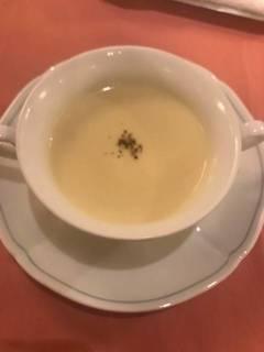 冷製ポテトのクリームスープ ヴィシソワーズ