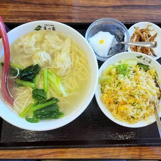 ワンタン湯麺Aセット
