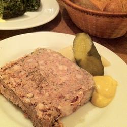 豚肉と鳥レバーのパテ