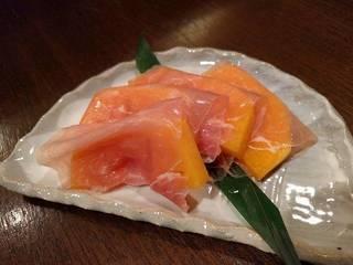 柿の生ハム