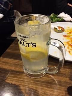 生搾りレモン