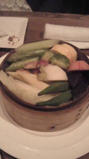 いろいろ野菜のせいろ蒸し