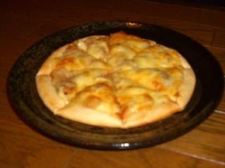 肉じゃがピザ