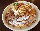 紅玉リンゴのシナモンキャラメルパンケーキ