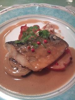 本日の新鮮なお魚料理