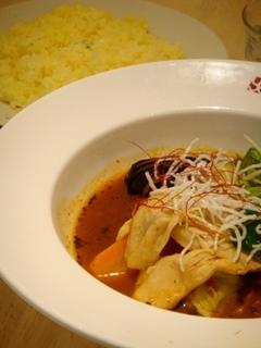 チキン&ベジタブルのスープカレー