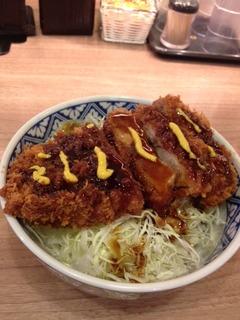 上ソースカツ丼