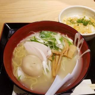 鶏塩ラーメン(ミニ麻婆丼付き)