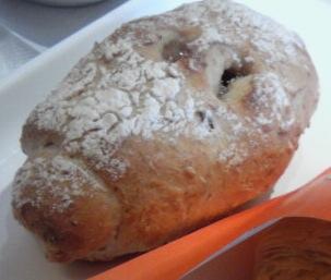 クランベリーと穀物のパン
