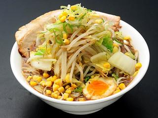 黒味噌とんこつ野菜盛り(ダブル)