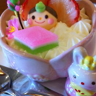 お姫様ケーキ