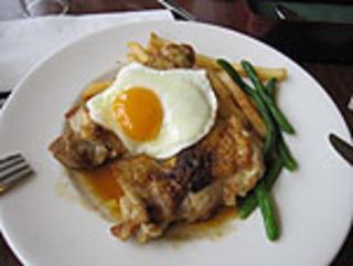 チキンのジューシーグリルランチ バター醤油ソース