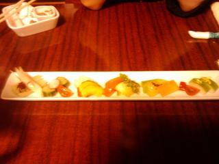 京野菜の漬物盛り合わせ