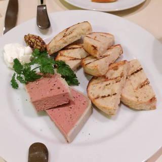 大山鶏のレバーパテ
