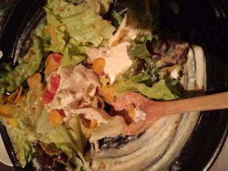 鶏屋の豆冨サラダ
