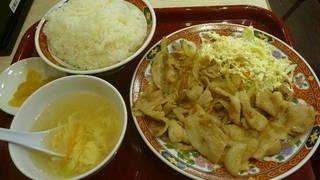 豚肉生姜焼き炒め定食