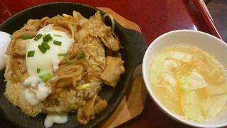 焼肉スタミナ炒飯