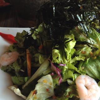 韓国海苔のりサラダ