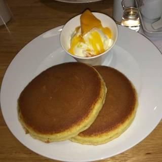マンゴークリームホットケーキ