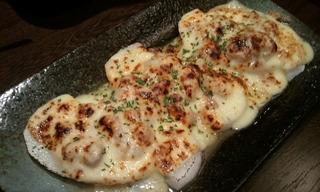 山芋肉みそチーズ焼き