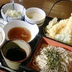 天ぷら蕎麦御前
