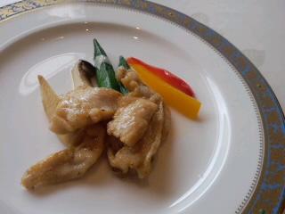 鶏肉と季節野菜の炒め
