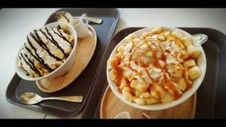 キャラメルミルクチーズケーキかき氷