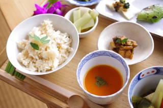 野菜料理のコース