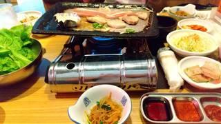 平日限定♪名物サムギョプサル3時間食べ放題+韓国料理付き限定コース
