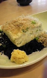 しらす豆腐