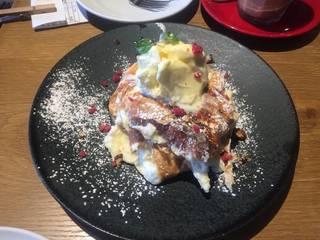 季節のパンケーキ(洋ナシ)